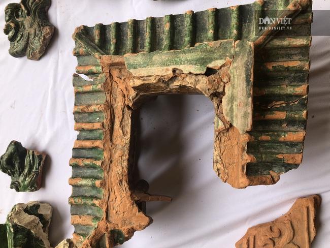 Tìm thấy mô hình kiến trúc tráng men xanh - vàng vô cùng quý hiếm thời Lê sơ - Ảnh 3.