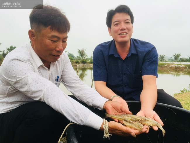 Nghệ An: Nuôi tôm thẻ chân trắng, nông dân lãi 1,3 tỉ đồng nhờ sản phẩm Mother Water của Bồ Đề - Ảnh 6.