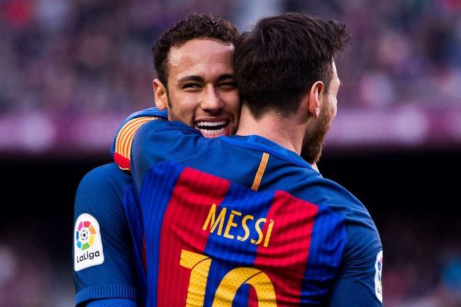 Messi và Neymar là đôi bạn thân.
