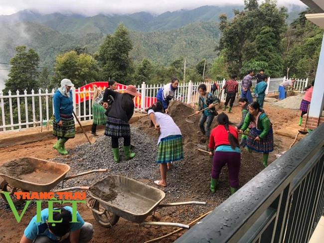 Người dân Vân Hồ: Góp sức cùng chính quyền xây dựng nông thôn mới - Ảnh 6.