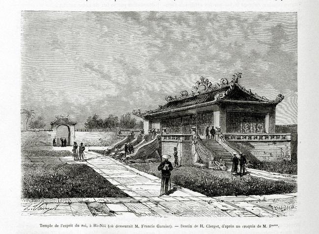 Ảnh lịch sử vô giá về điện Kính Thiên ở Hoàng thành Hà Nội - Ảnh 2.