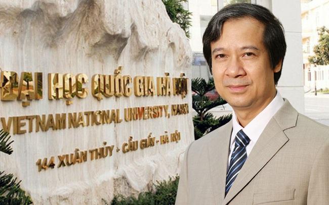 Nhìn lại thành tựu Giám đốc ĐHQGHN Nguyễn Kim Sơn đạt được trước khi trở thành Bộ trưởng Bộ GD-ĐT - Ảnh 1.