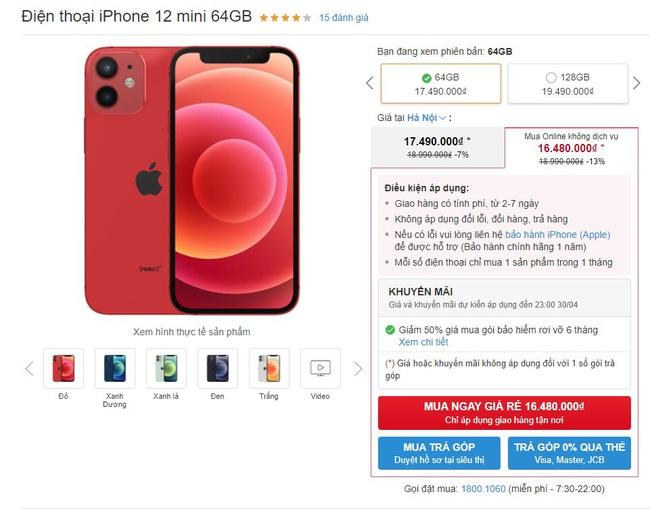 Giá iPhone bất ngờ giảm mạnh đầu tháng 4 - Ảnh 1.