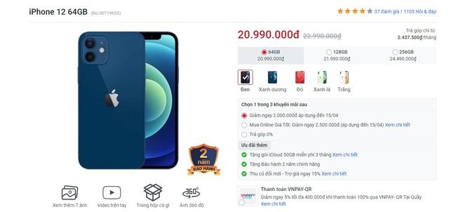 Giá iPhone bất ngờ giảm mạnh đầu tháng 4 - Ảnh 3.