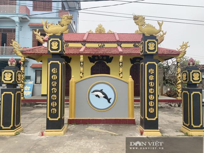 Quảng Bình: Làng biển thờ hai bộ xương cá voi vào hàng lớn nhất Việt Nam - Ảnh 4.