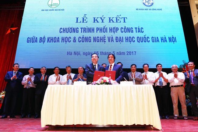 Nhìn lại thành tựu Bộ trưởng Bộ GD-ĐT Nguyễn Kim Sơn làm được tại Đại học Quốc gia Hà Nội - Ảnh 3.