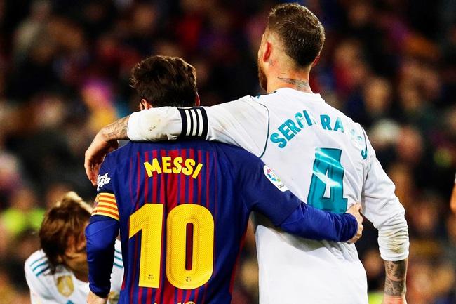 Ramos từng nhiều lần chặt chém Messi ở El Clasico.