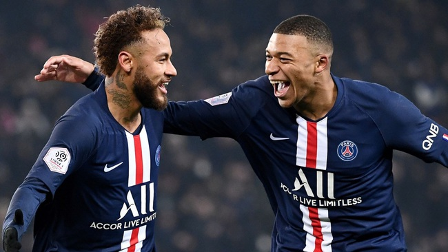 PSG đang thăng hoa với Neymar và Mbappe.
