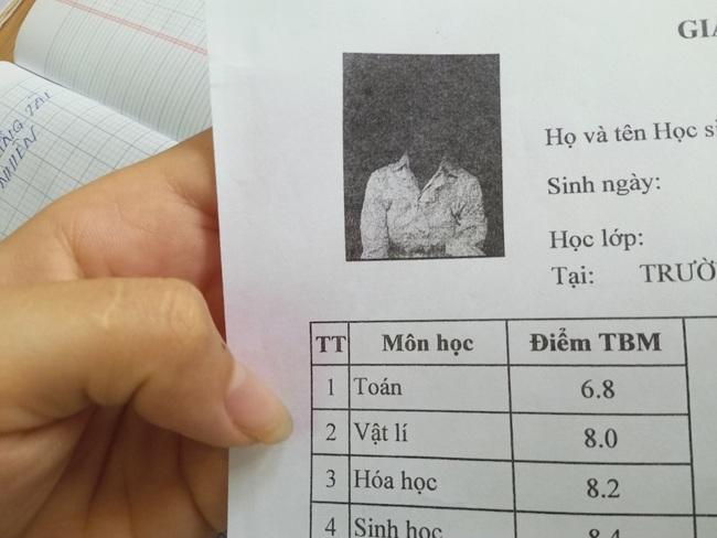 Nữ sinh háo hức làm hồ sơ thi tốt nghiệp THPT, lúc nhận lại ảnh học bạ không nhịn được cười - Ảnh 1.