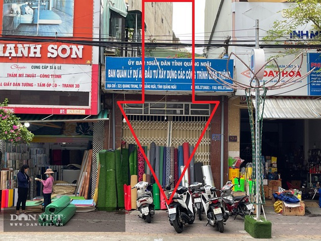Quảng Ngãi: Nhà công sản trị giá nhiều tỷ/căn bỏ hoang ngay trung tâm thành phố  - Ảnh 3.