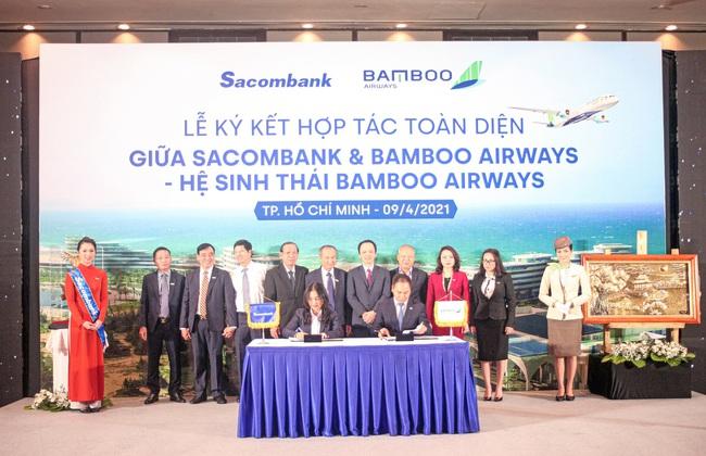 """Sacombank """"bắt tay"""" với hệ sinh thái Bamboo Airways của tỷ phú Trịnh Văn Quyết  - Ảnh 4."""