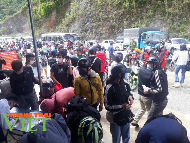 Các điểm du lịch Mộc Châu chật cứng du khách đến tham quan, trải nghiệm - Ảnh 1.