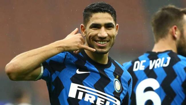 Hakimi đang là hậu vệ phải hay nhất ở Serie A.