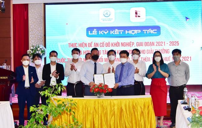 TT-Huế và Tập đoàn Vicoland hợp tác thực hiện đề án Cố đô khởi nghiệp  - Ảnh 1.