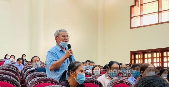 """Thường trực Tỉnh uỷ Ninh Bình đối thoại, giải đáp nhiều vấn đề """"nóng"""" với cán bộ, hội viên nông dân - Ảnh 4."""