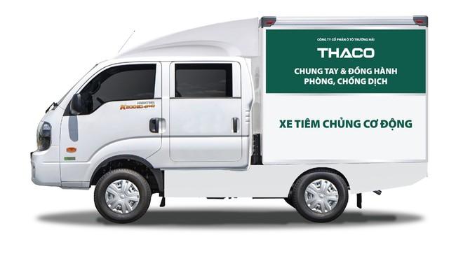 THACO TRAO TẶNG THÀNH PHỐ HÀ NỘI 300.000 KIT TEST NHANH KHÁNG NGUYÊN SARS-CoV-2 VÀ 30 XE CỨU THƯƠNG - Ảnh 2.