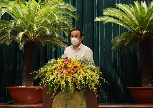 Bí thư Nguyễn Văn Nên: Đánh giá đúng mức vai trò của đội ngũ doanh nhân trong phòng chống dịch Covid-19 - Ảnh 4.