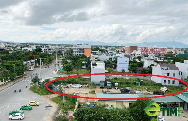 UBND tỉnh Quảng Ngãi yêu cầu làm rõ dự án siêu thị thành nơi đậu xe, chứa phế thải