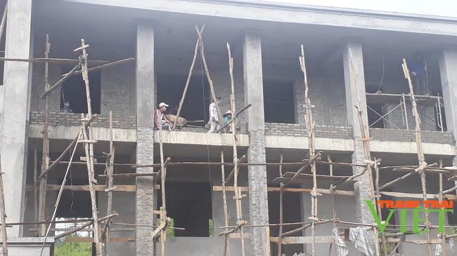 Thành phố Lai Châu: Đẩy nhanh tiến độ thi công các công trình  - Ảnh 3.