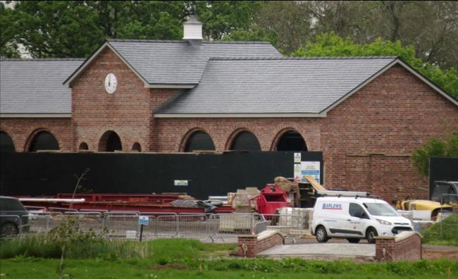 Nơi ở của Wayne Rooney (đang xây dựng).