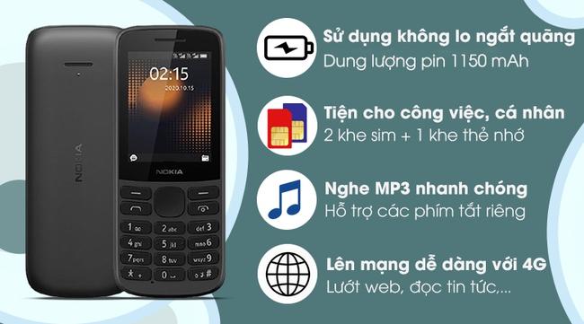 Loạt điện thoại Nokia 'cục gạch' giảm giá mạnh giữa tháng 5: Pin trâu, hỗ trợ 4G, lướt web cực ngon - Ảnh 5.
