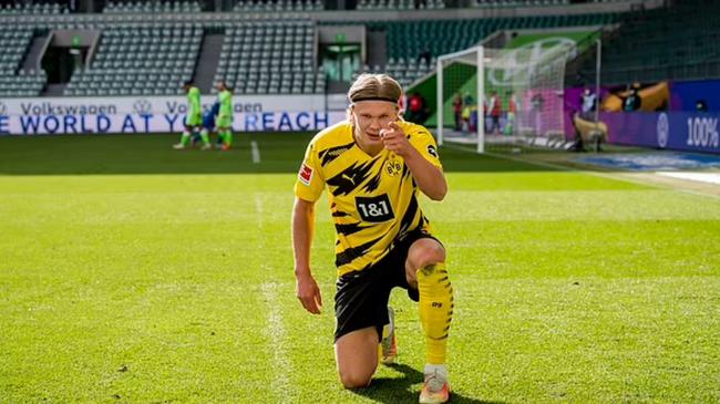 Haaland có thể rời Dortmund vào mùa hè này.