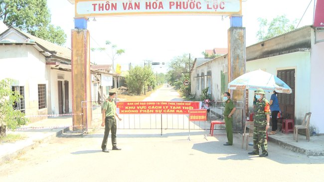 Thêm 3 thôn ở Thừa Thiên Huế được dỡ bỏ phong tỏa, chuyển sang giãn cách xã hội  - Ảnh 1.