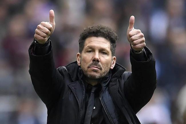 Simeone khẳng định Atletico Madrid đang rất tự tin.