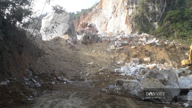 Thái Nguyên yêu cầu tạm dừng hoạt động 2 mỏ đá khai thác gây sạt lở  - Ảnh 1.