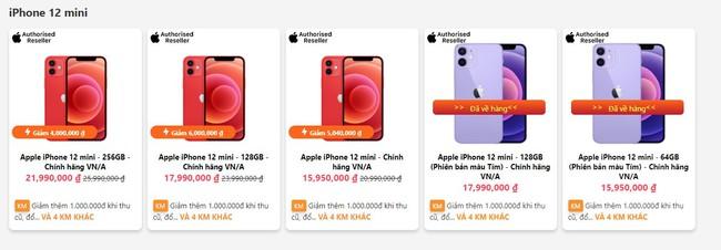 iPhone 12 giảm giá cực sốc, 12 Pro Max giá không thể ngon hơn - Ảnh 1.