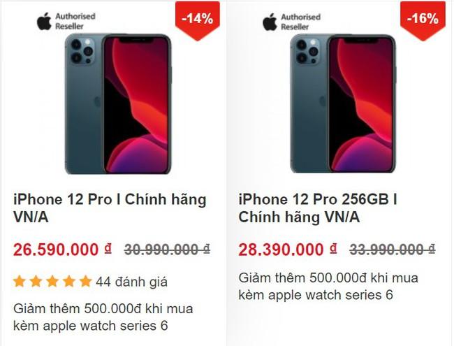 iPhone 12 giảm giá cực sốc, 12 Pro Max giá không thể ngon hơn - Ảnh 2.