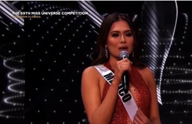 Chung kết Miss Universe 2020: Top 5 thi ứng xử, Khánh Vân trượt top 10 - Ảnh 1.