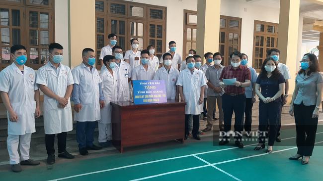 Yên Bái: Cử đoàn cán bộ y tế đến Bắc Giang tham gia chống dịch Covid-19 - Ảnh 1.