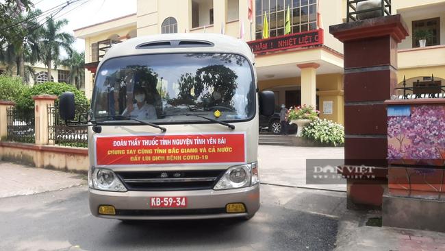 Yên Bái: Cử đoàn cán bộ y tế đến Bắc Giang tham gia chống dịch Covid-19 - Ảnh 3.