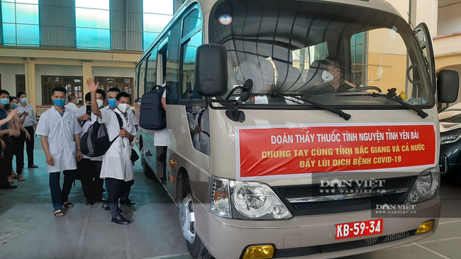 Yên Bái: Cử đoàn cán bộ y tế đến Bắc Giang tham gia chống dịch Covid-19 - Ảnh 2.