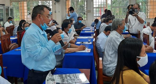 Cử tri huyện Củ Chi chúc Chủ tịch nước Nguyễn Xuân Phúc trúng cử ĐBQH với 100% số phiếu - Ảnh 1.