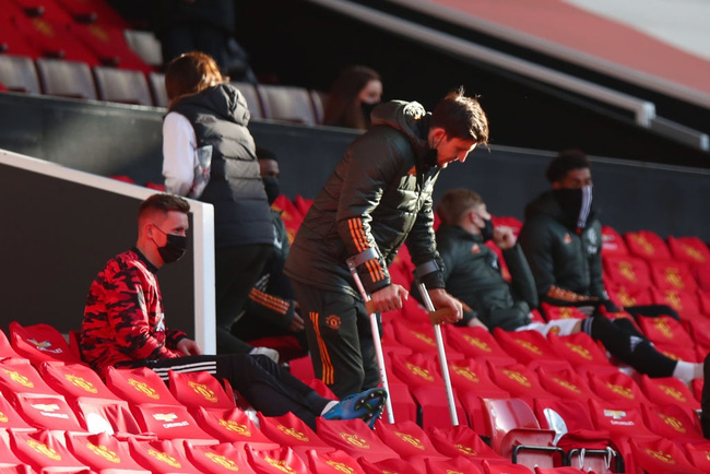 Sốc: Maguire mất chung kết Europa League, nguy cơ lỡ EURO 2020 - Ảnh 1.