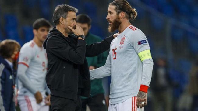 Chấn thương khiến Ramos bị loại.