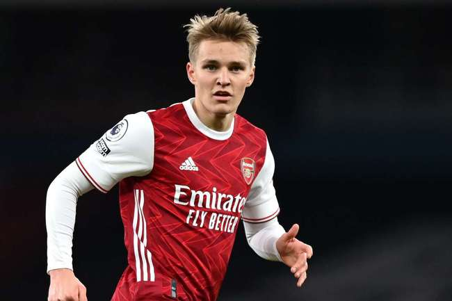Odegaard đã khẳng định được tài năng ở Arsenal.