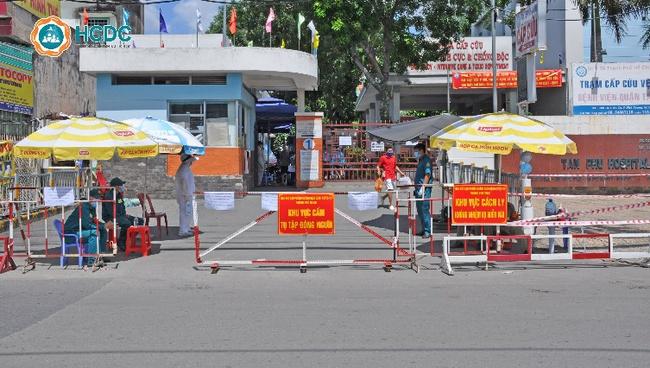 TP.HCM: 3 ca nghi mắc Covid-19 liên quan đến Hội thánh truyền giáo Phục Hưng đến khám, tạm phong tỏa Bệnh viện quận Tân Phú - Ảnh 1.