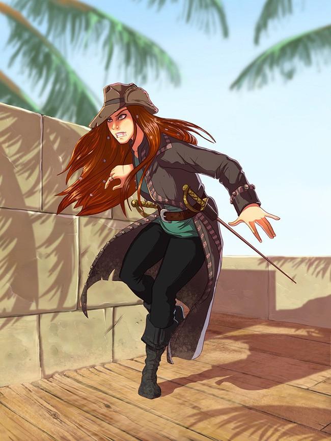"""Kết cục bí ẩn của """"nữ hoàng"""" cướp biển tóc đỏ, mắt xanh - Ảnh 10."""
