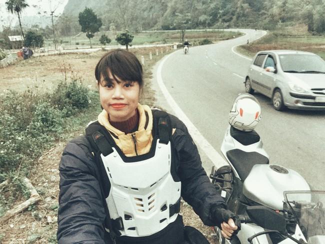 Người mẫu mê xe mô tô phân khối lớn Khánh Linh - Ảnh 8.