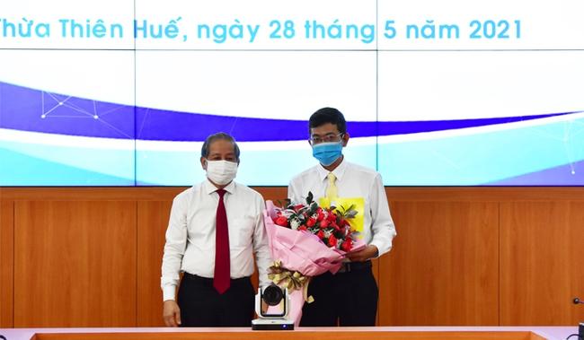 TT-Huế: Bổ nhiệm lãnh đạo chủ chốt các Sở Công Thương, TT&TT và Văn phòng UBND tỉnh  - Ảnh 1.