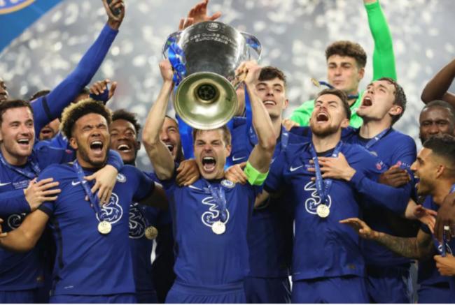 Chào mừng nhà tân vô địch Champions League.
