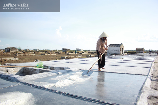 Nghệ An: Diêm dân phơi mình dưới cái nắng 40 độ C - Ảnh 3.