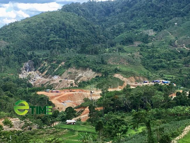 Quảng Ngãi: Chủ dự án thuỷ điện ngang nhiên phá, chiếm đất rừng phòng hộ trái phép  - Ảnh 5.