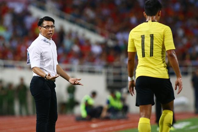 HLV Tan Cheng Hoe không hài lòng với thành tích giao hữu của Malaysia.