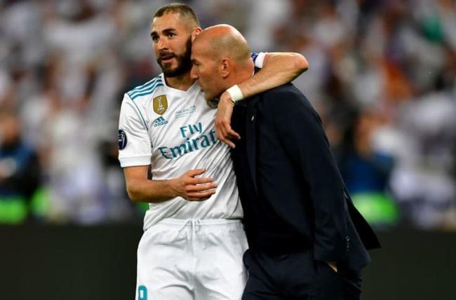 Benzema và Zidane có mối quan hệ thân thiết.