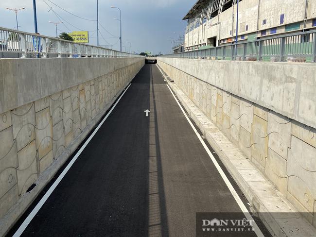 Tháng 7 dự kiến thông xe hầm chui 75 tỷ đồng trước bến xe Miền Đông mới - Ảnh 1.