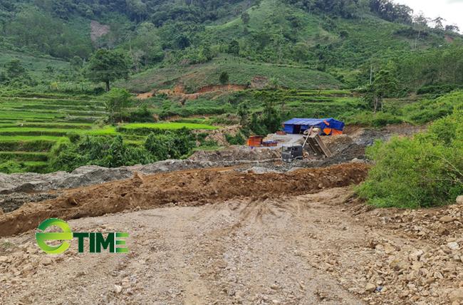 Quảng Ngãi: Đất, cây trồng của dân chưa đền bù nhưng đã ủi phá làm dự án thuỷ điện  - Ảnh 1.